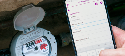 Watermeter vervangen naar slimme watermeter met PTI software!