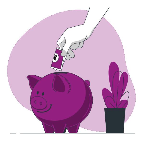 Loonkosten besparing